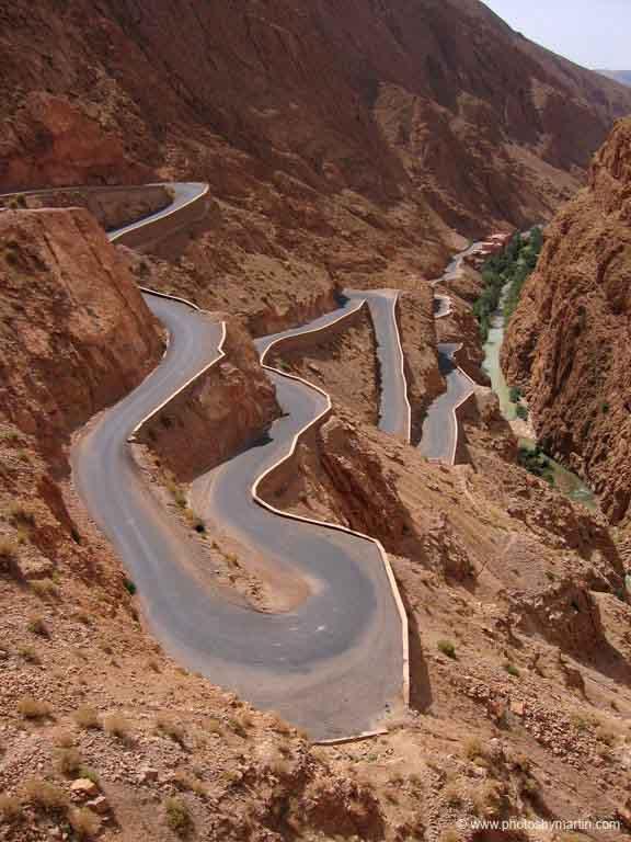 وادي دادس هو نهر في المغرب Dades